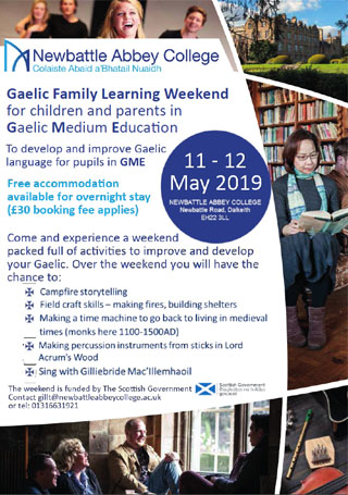 Gaelic Family Weekend