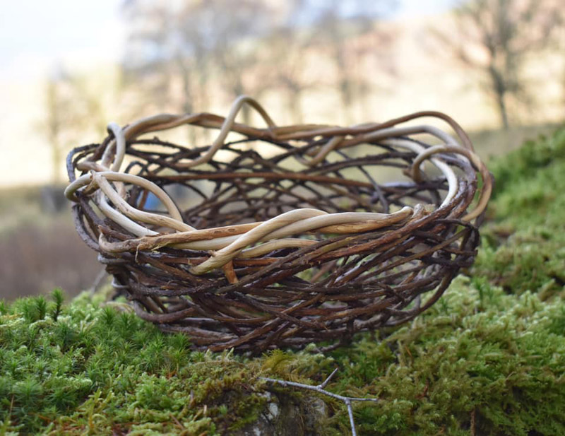 woven foraged object